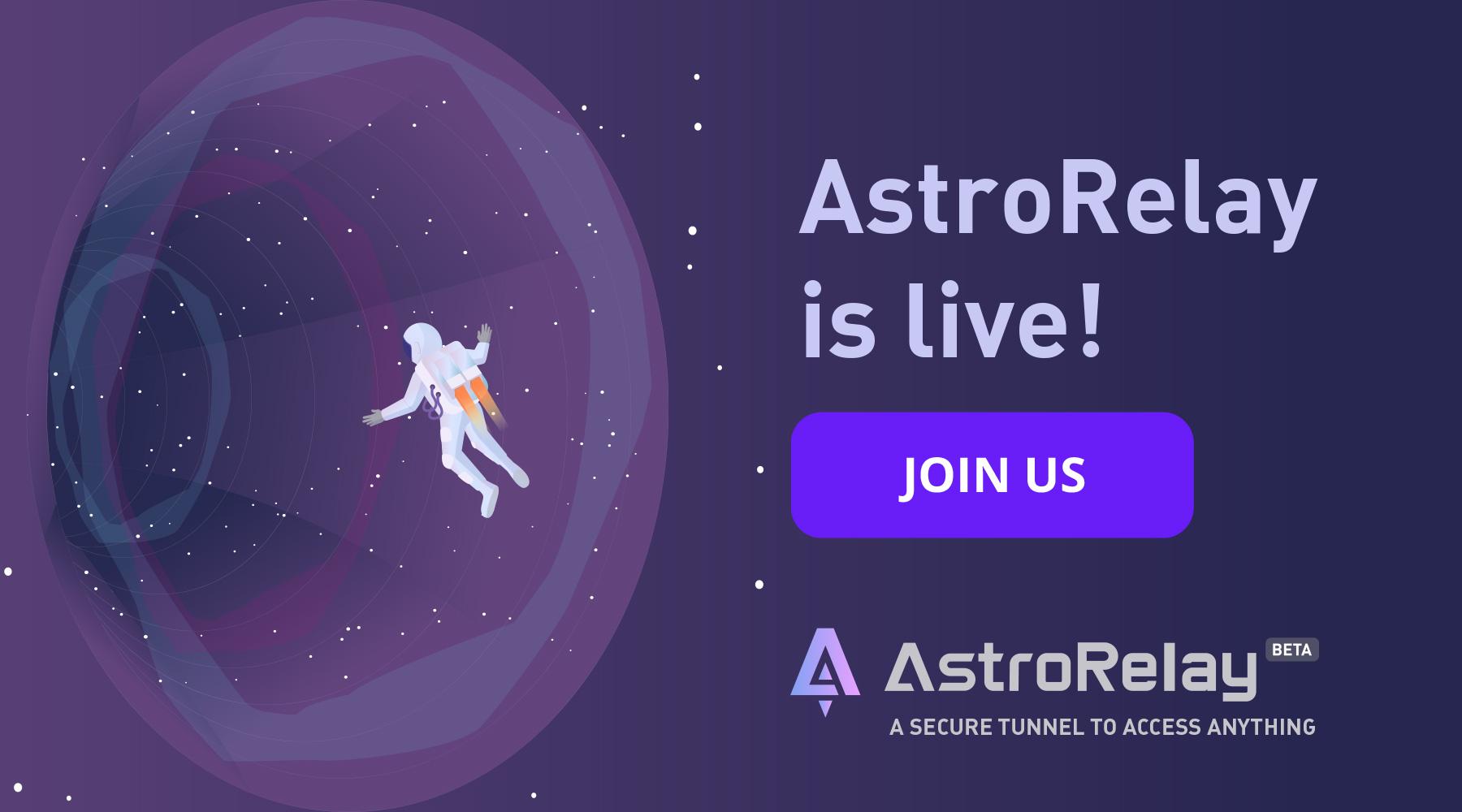 AstroRelay Is Live!