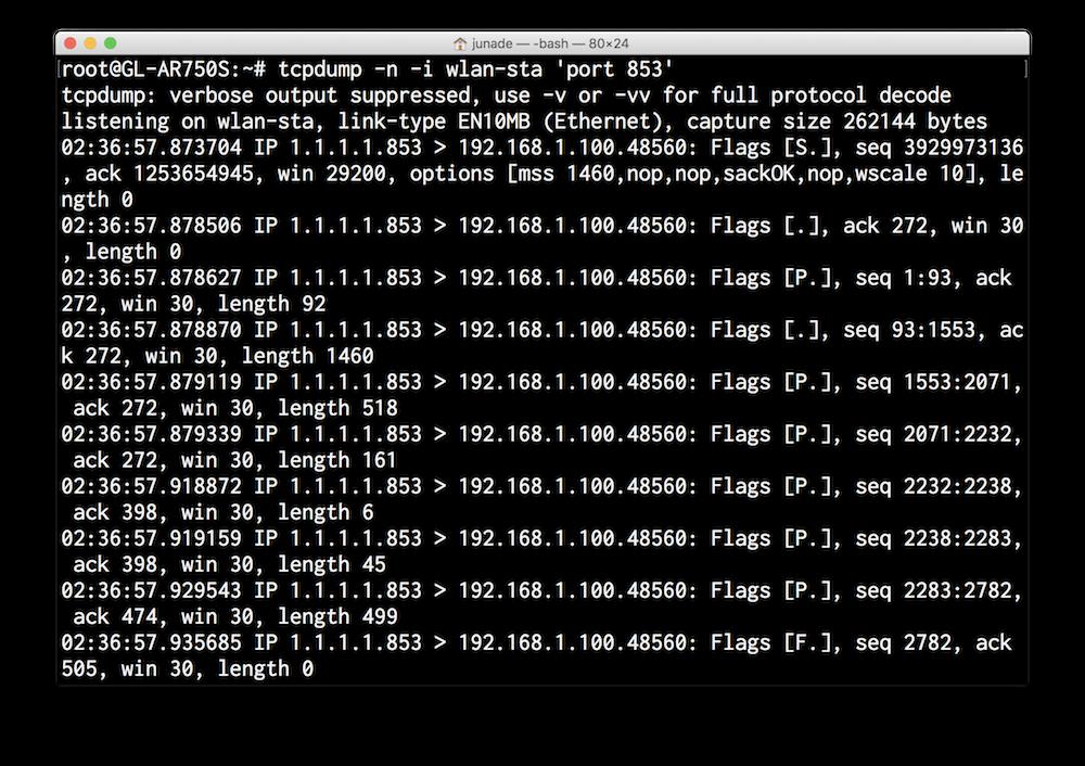 DNS-Over-TLS