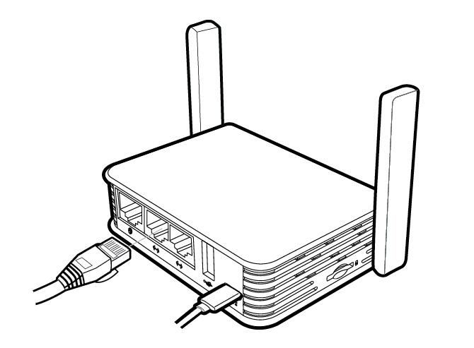 GL.iNet Brume-W Internet Cable