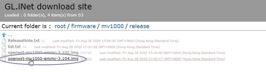GL.iNet Download Site Release