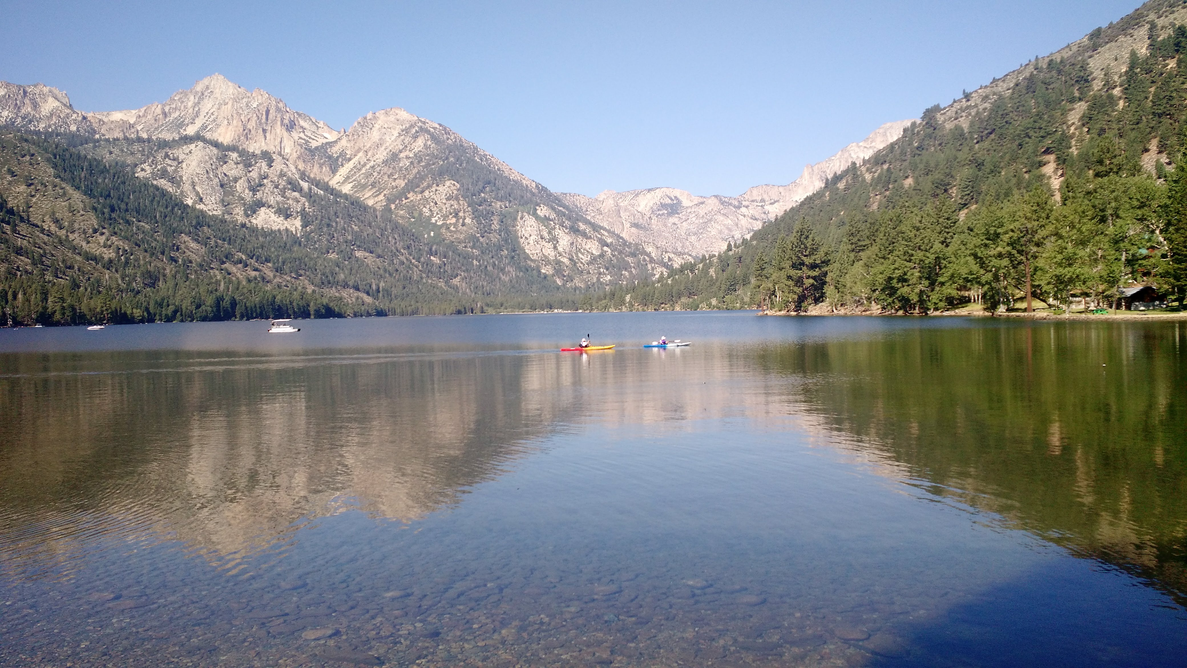 Sierra Nevada Mountains Remote Area