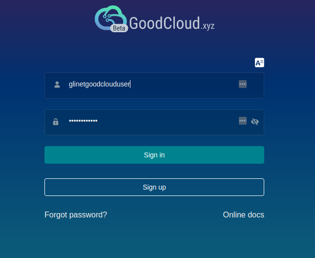 GL.iNet GoodCloud