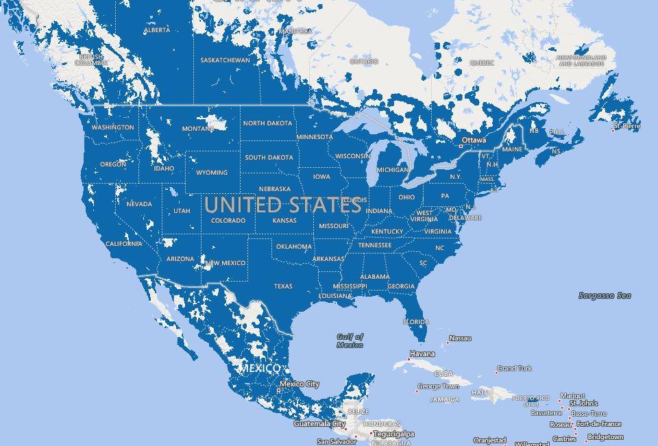 America Wireless Coverage