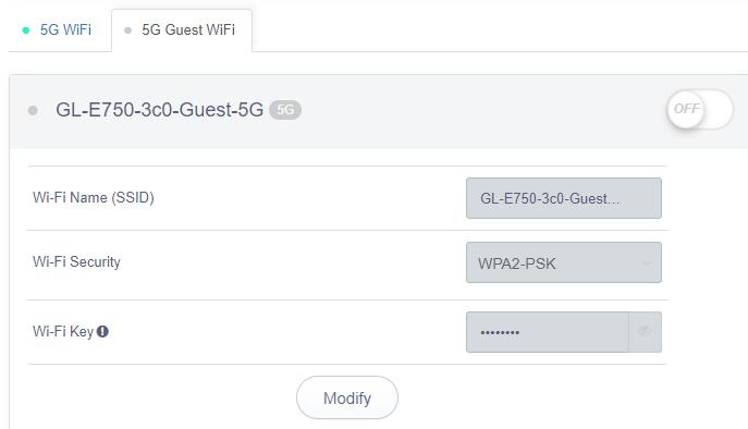 guest wifi 5g status