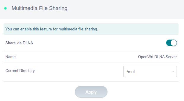 multimedia file sharing