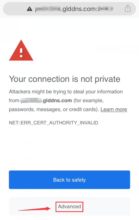 HTTPS-Remote-Access-on-iOS-Chrome