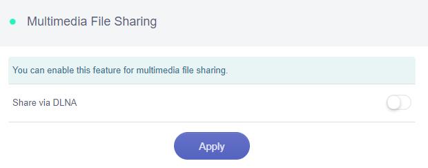 multimedia file sharing installed